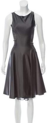 Blumarine Sleeveless Knee-Length Dress