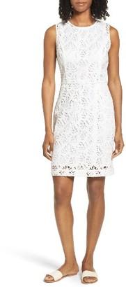Women's Vineyard Vines Horseshoe Lace Dress $178 thestylecure.com