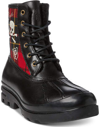 Polo Ralph Lauren Men Udel Sherling Boots Men Shoes