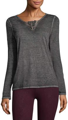 Nanette Lepore Caged V-Neck T-Shirt