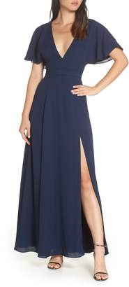 Fame & Partners A-Line Gown