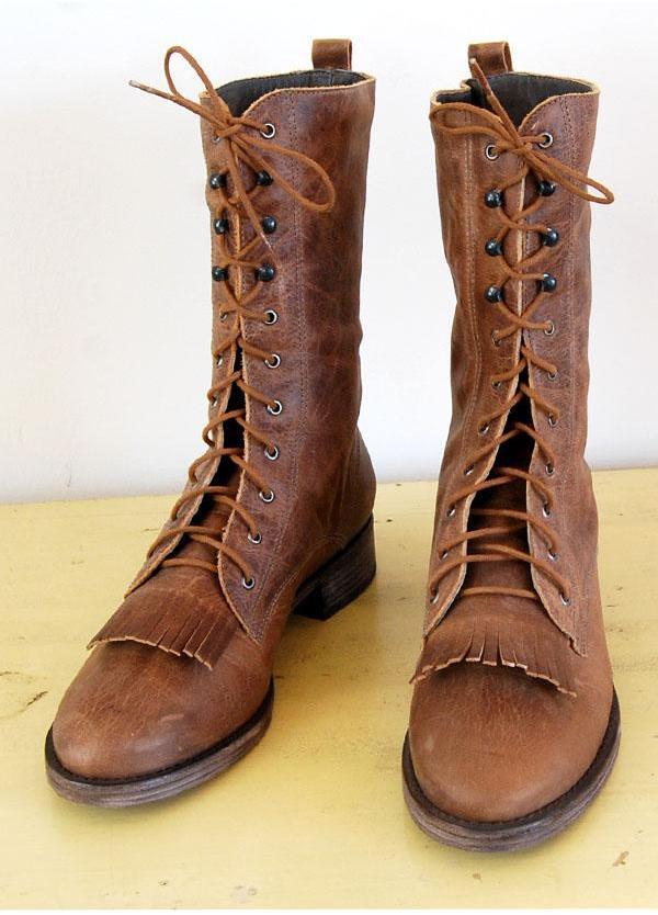 Joie - Brown Navajo Boots