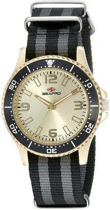 Seapro Women's SP5419NBL Analog Display Quartz Two Tone Watch