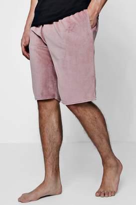 boohoo Towelling Lounge Shorts