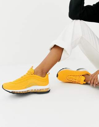 Nike Yellow Air Max 97 Trainers