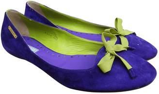 Vic Matié Purple Suede Ballet flats
