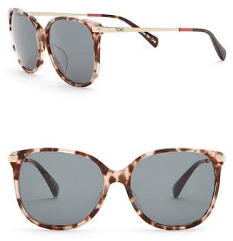 Toms Sandela 55mm Oversized Sunglasses