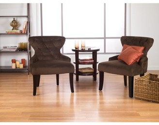 Office Star Ave Six by Products Curves Hour Glass Accent Chair