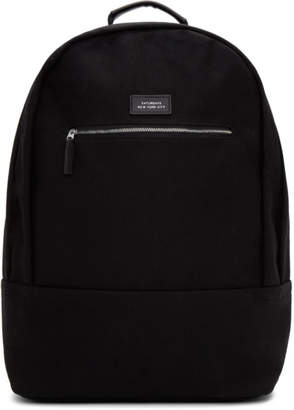 Saturdays NYC Black Hannes Backpack
