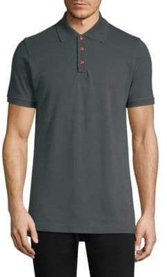 Kiton Snap Button Polo Shirt