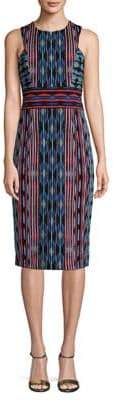 Maggy London Sleeveless Knee-Length Sheath Dress