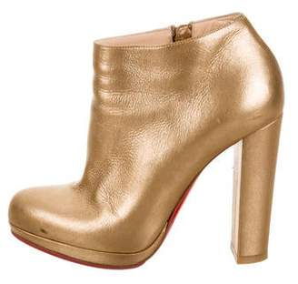 1f3a6fa6810 Christian Louboutin Rock and Gold 120 Boots