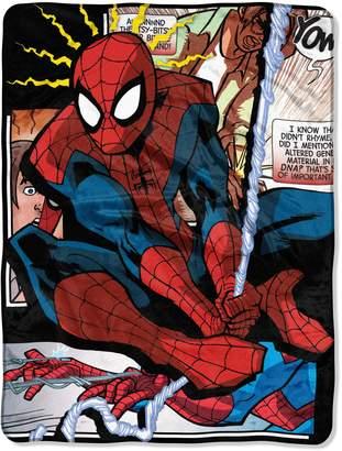 Marvel Spiderman Spider Origins Throw