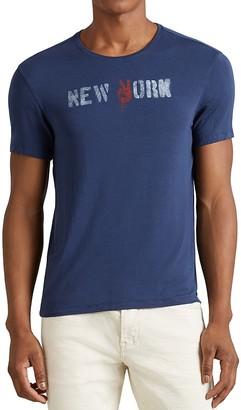 John Varvatos Star USA New York Graphic Tee $78 thestylecure.com