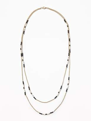 Old Navy Long Beaded Necklace for Women