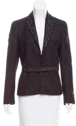 Valentino Embellished Wool-Cashmere Blazer