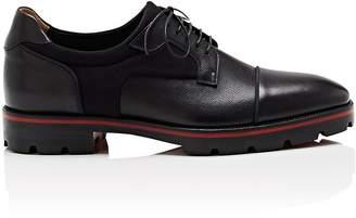 Christian Louboutin Men's Mika Flat Neoprene & Leather Bluchers