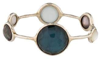 Ippolita Quartz & Mother of Pearl Doublet Bangle