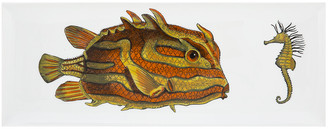 Fornasetti Incontro Rectangular Tray - Colour