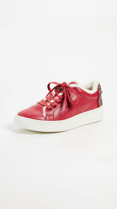 Lola Cruz ONE by Lace Up Eye Sneakers
