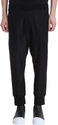 Neil Barrett Black Wool Pants