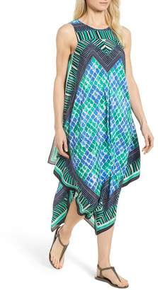 Nic+Zoe DJ VU Print Tank Dress (Regular & Petite)