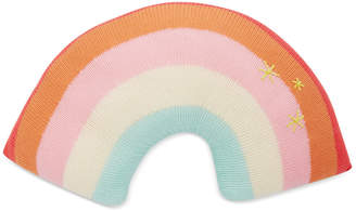 Blabla Kids Kids Rainbow Rib-Knit Cotton Pillow