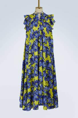 Balenciaga Short-sleeved long dress