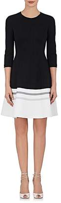 Lisa Perry Women's Ponte Knit Fit-And-Flare Dress