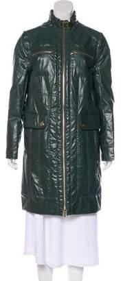 Tory Burch Knee-Length Raincoat w/ Tags