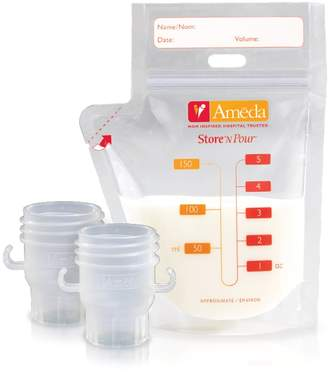 Ameda Store N' Pour Milk Storage Bag Set