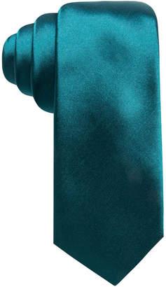 Alfani Men's Solid Silk Slim Tie