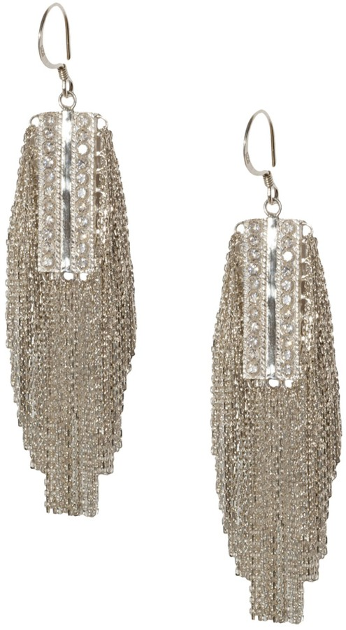 Marie-Laure Chamorel Fringed Earrings