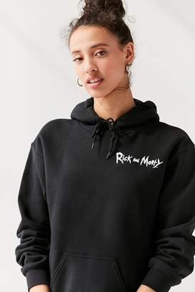 Urban Outfitters Rick And Morty Hoodie Sweatshirt