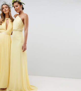 TFNC Tall Embellished Maxi Bridesmaid Dress