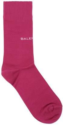 Balenciaga Classic Logo Cotton Socks