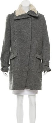 Thakoon Oversize Knee-Length Coat