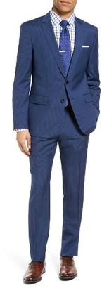 Men's Boss Huge/genius Trim Fit Stripe Wool Suit $895 thestylecure.com