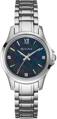 Bulova Ladies Diamond Gallery Diamond Watch 96P153