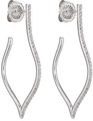 Sara Weinstock Women's Veena Large Hoop Earrings