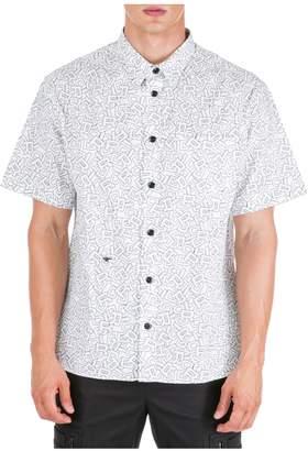 Christian Dior Logo Printed Short Sleeve Shirt