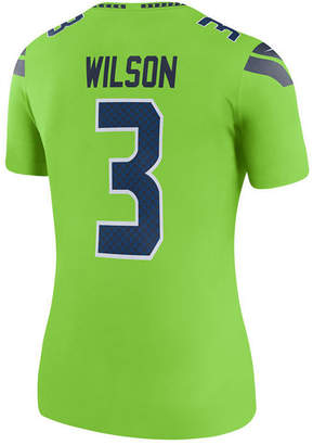 Nike Women's Russell Wilson Seattle Seahawks Color Rush Legend Jersey