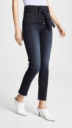 Veronica Beard Jean Keith Corset Skinny Jeans