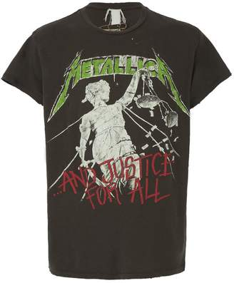 """MadeWorn metallica """"... and justice for all"""" t-shirt"""
