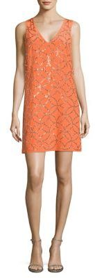 Trina Turk Sally Embellished Silk Dress $398 thestylecure.com