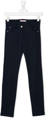 Miss Blumarine slim-fit trousers
