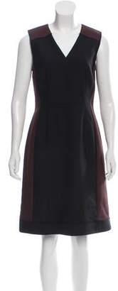 Reed Krakoff Raw-Edge Wool Dress