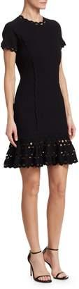 Jonathan Simkhai Ribbed Fit & Flare Dress