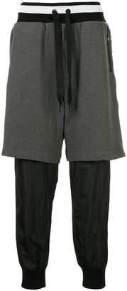 Dolce & Gabbana layered track pants