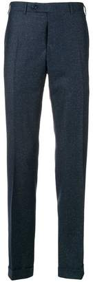 Canali tailored fitted trousers
